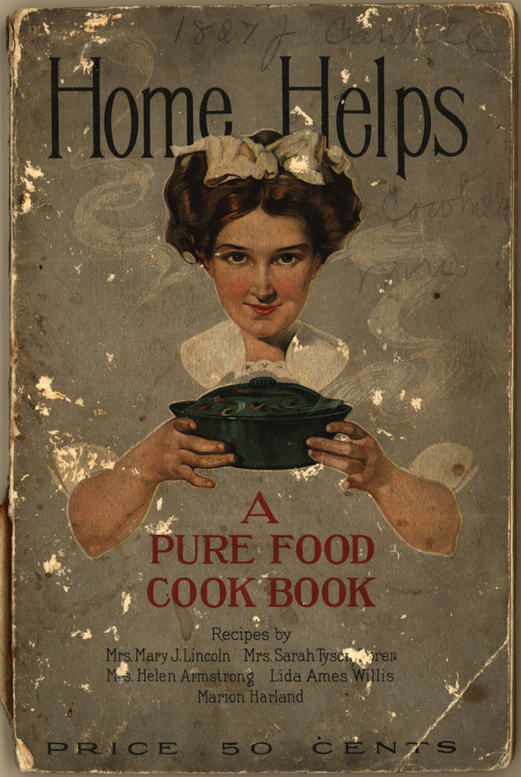 home_helps_a_pure_food_cook_book_front_cover